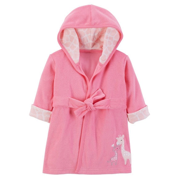Just One You by Carter's Other - New Baby Girl Newborn 9 Months Terry Pink Robe